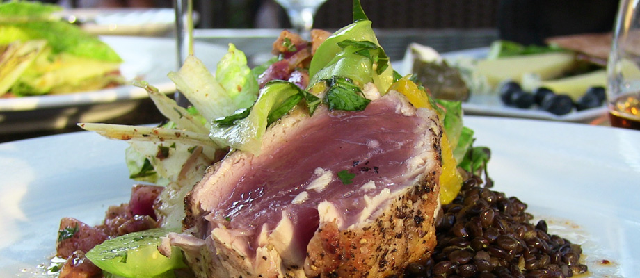 Tuna on the Patio