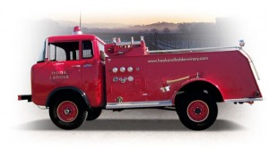 Hook and Ladder Winery Fire Truck