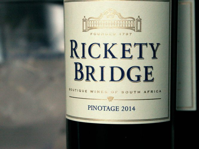 Wine Pick of the Week: Rickety Bridge Winery Pinotage, South Africa '14