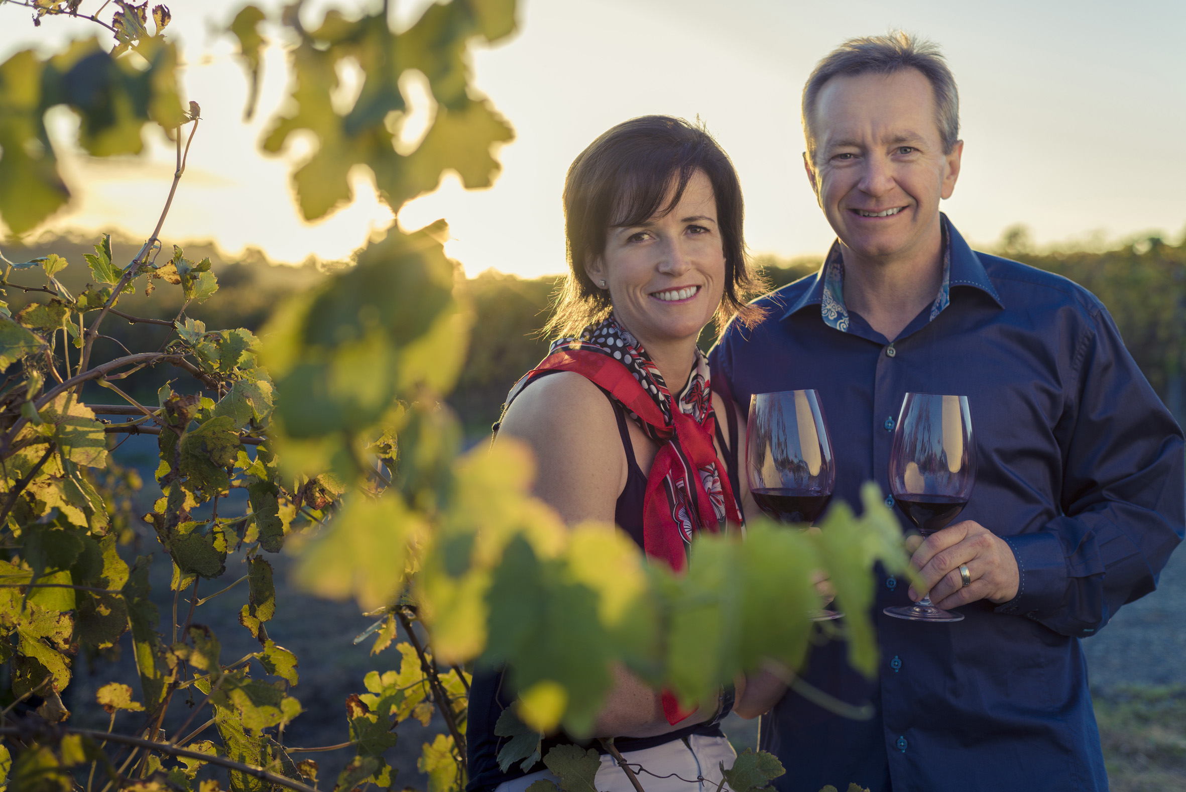 Sarah and Sparky Marquis of Mollydooker Wines